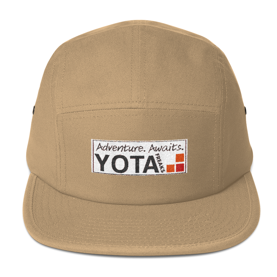 Adventure Awaits 5 Panel Camper Hat