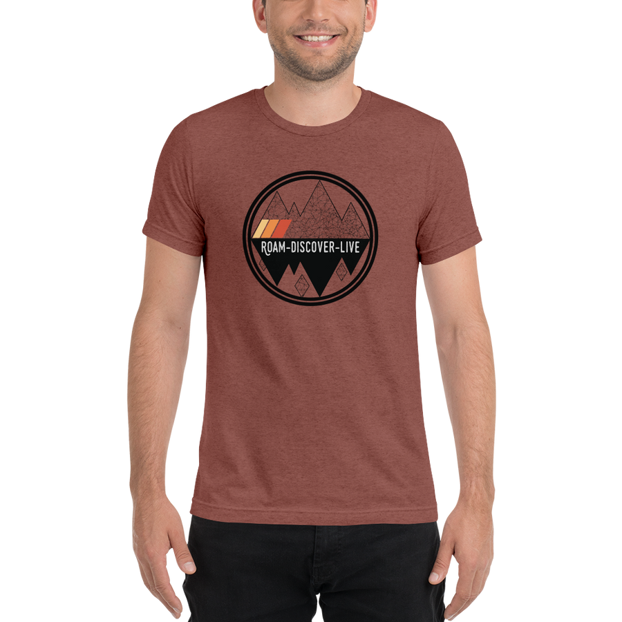 Shadow Mountain Retro T-Shirt
