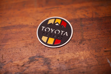 Toyota Freaks -Stainless- Badge