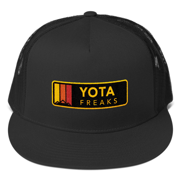 Embroidered Horizontal Yota Freaks Mesh SnapBack