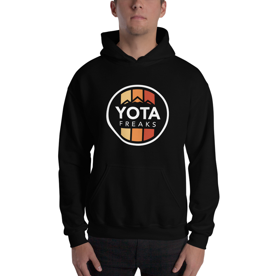 Retro Hooded Sweatshirt