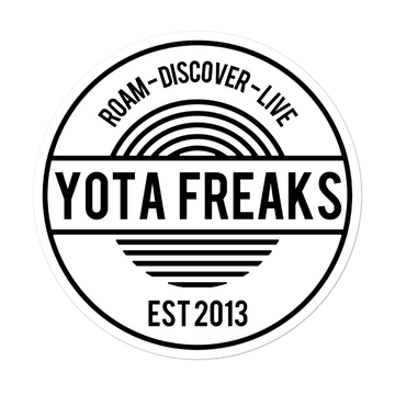 2020 Yota Freaks Circle Decal