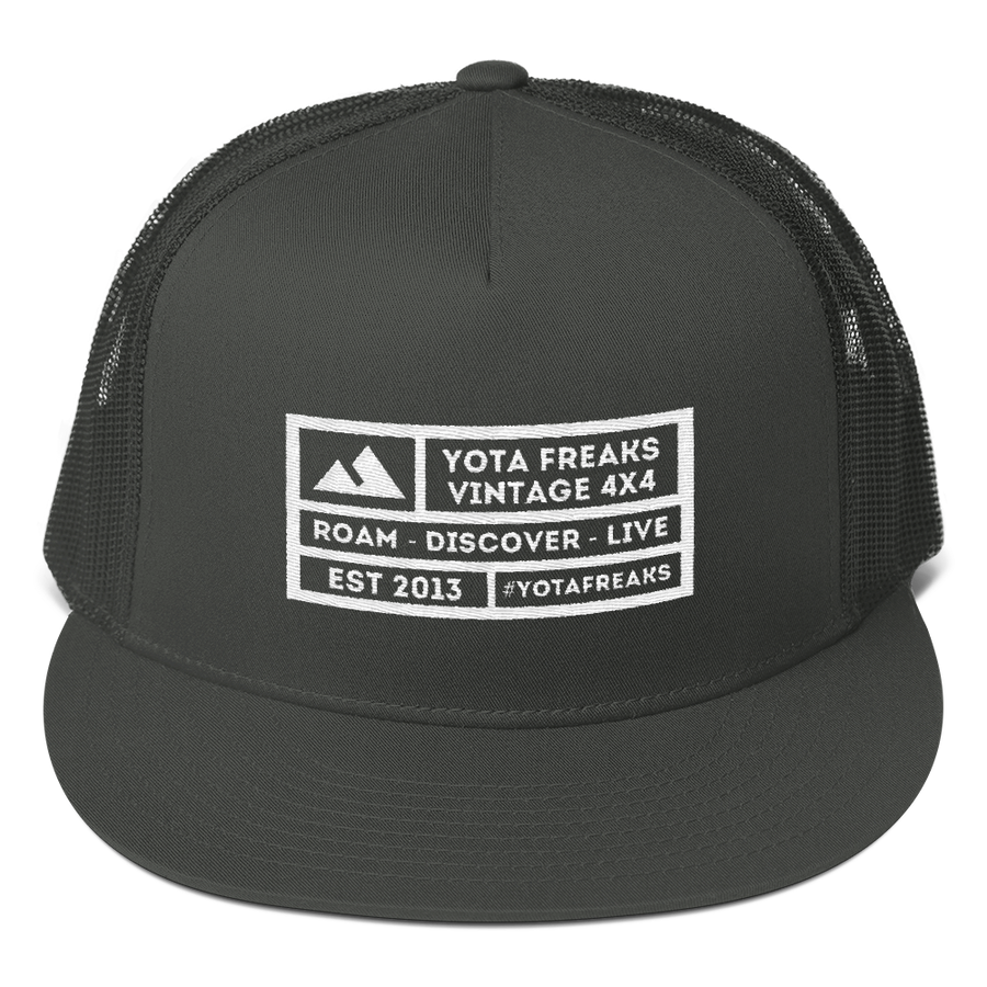 Square Mountain Mesh Snapback