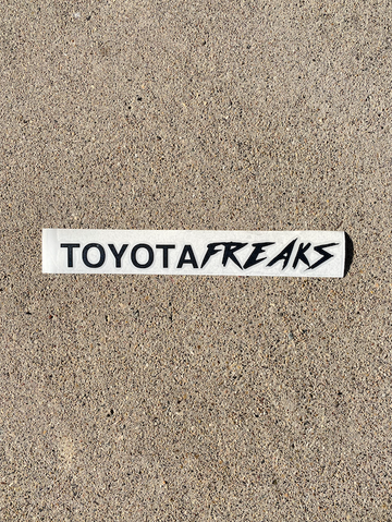 Toyota Freaks Business/Casual Decal