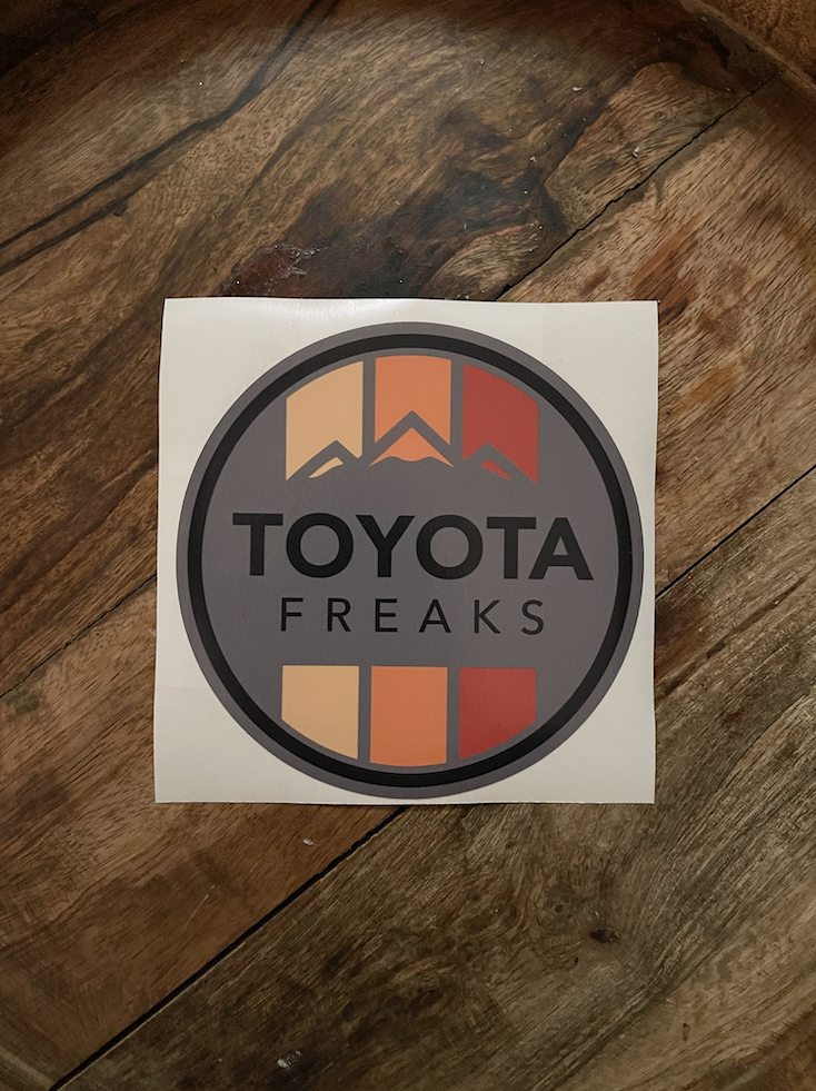 Retro Color Decal