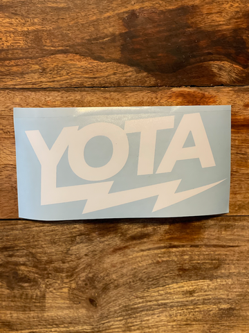 YOTA BOLT Decal