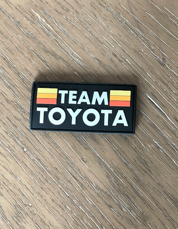 Team Toyota PVC Patch