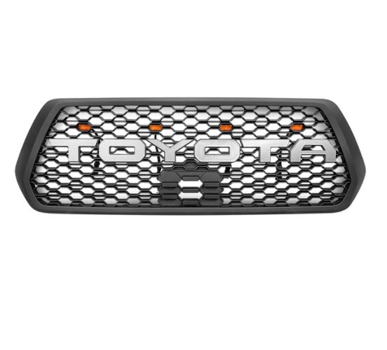 HONEYCOMB STYLE GRILL WITH RAPTOR LIGHTS