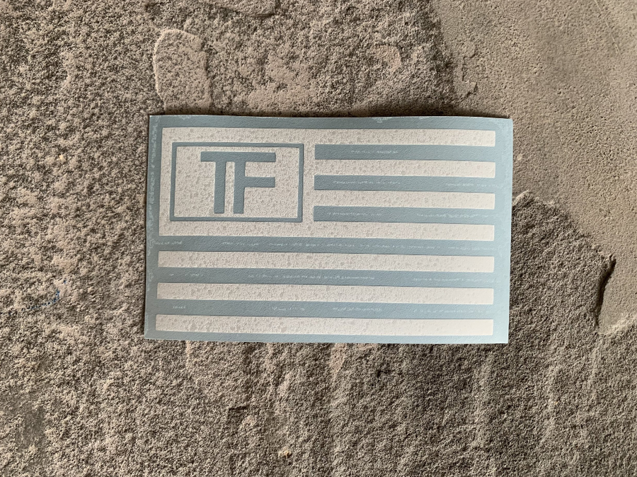 TF America Decal