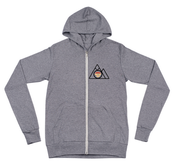 Zip Down Mountain Hoodie
