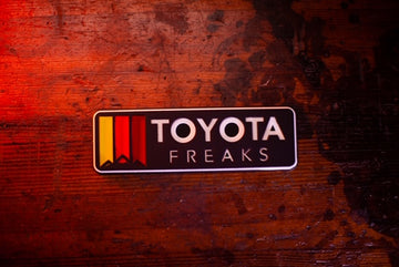 Horizontal Custom Yota Freaks Hitch Cover