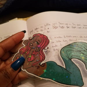 Halle Mermaid Book/Page marker
