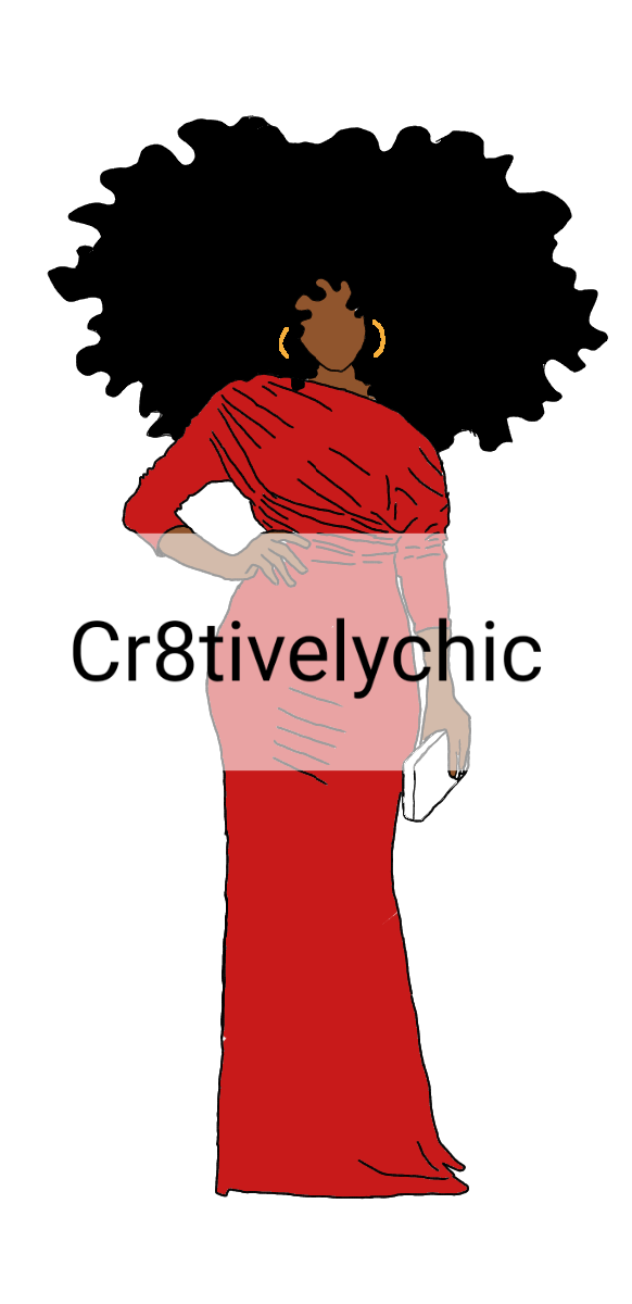 DST Inspired Fashion Doll clipart digital