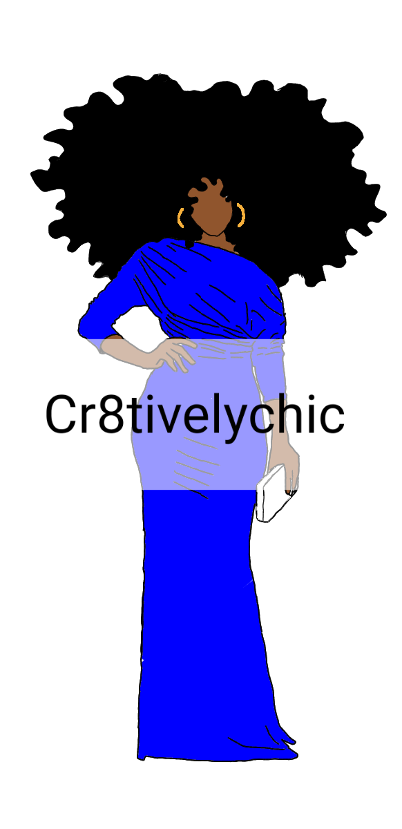 ZPB Inspired Fashion Doll clipart digital