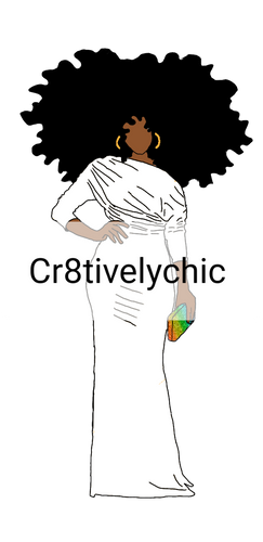 OES Inspired Fashion Doll clipart digital