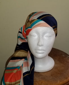 Stripes Large Versatile Scarf