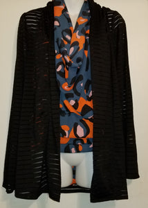 Abstract Floral Large Versatile Scarf