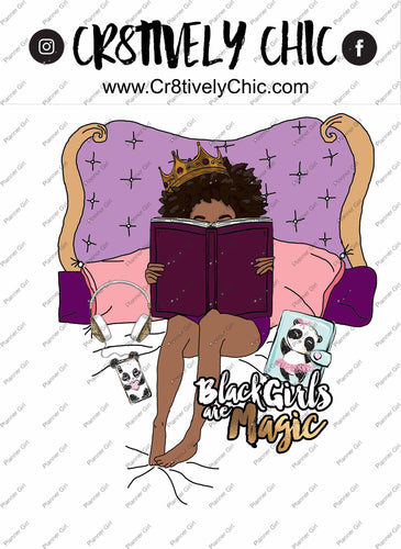 CLIPART, planner die cuts, printable, curly girl, travel, bwwpc, atlanta, comfy, relax digital