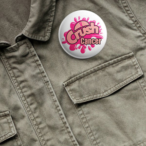 Crush Cancer button