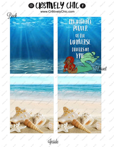 Halle Mermaid Micro Happy Notes Cover digital