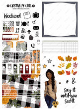 Fall Hobonichi Kit digital