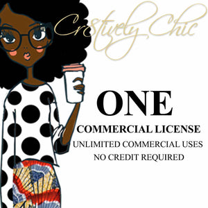 1 COMMERCIAL LICENSE for a single product.