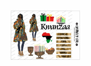 Kwanzaa mini kit digital