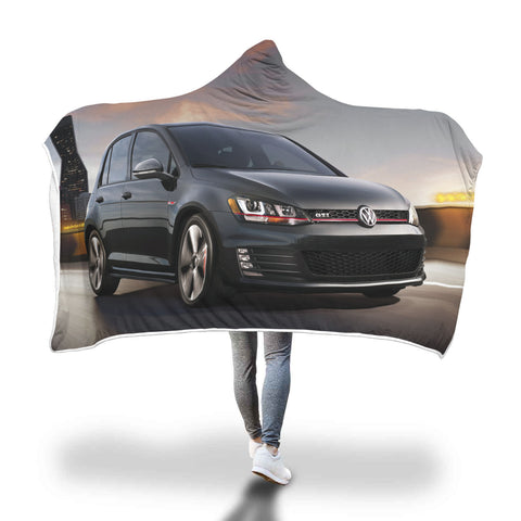 LIMITED EDITION GTI HOODED BLANKET