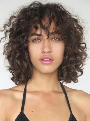 curly bangs, spring trends, summer trend