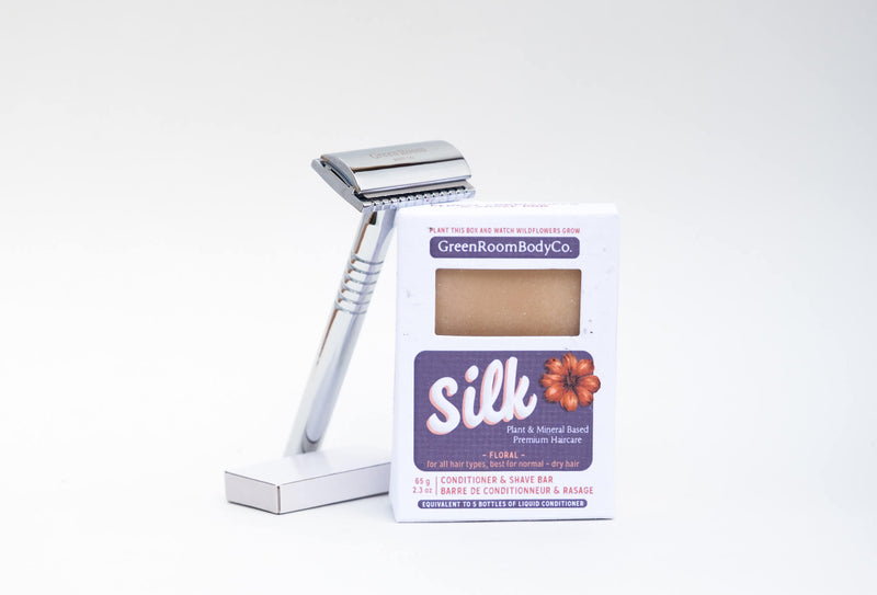 Safety Razor + Shave Bar Bundle