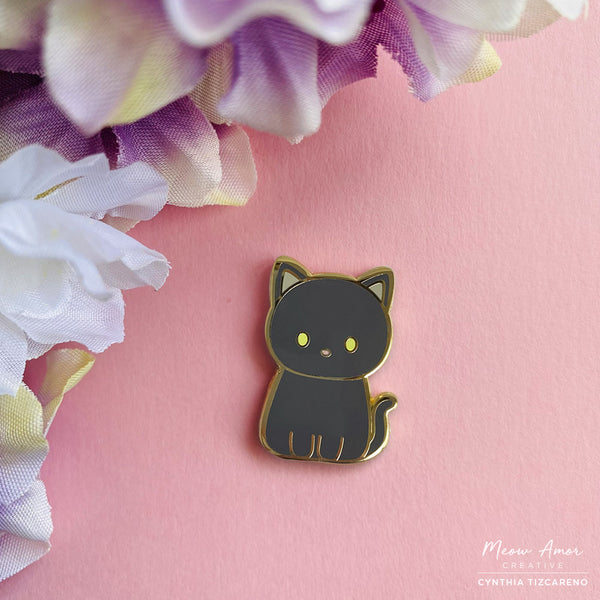 British Shorthair Cat Enamel Pin