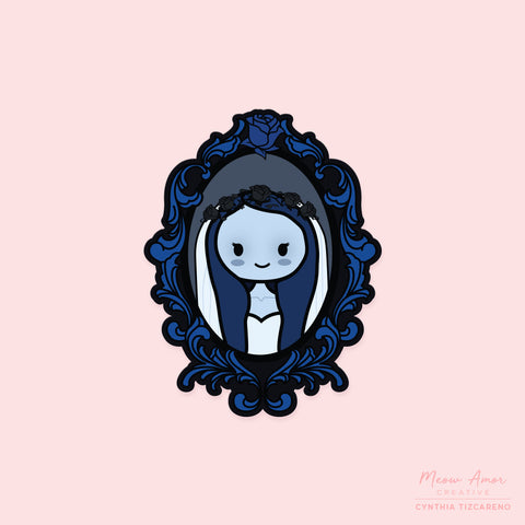 Corpse Bride Vinyl Sticker