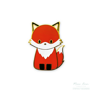 Fox Enamel Pin