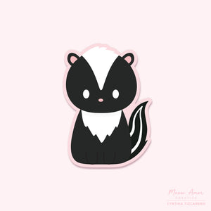 Skunk Vinyl Sticker