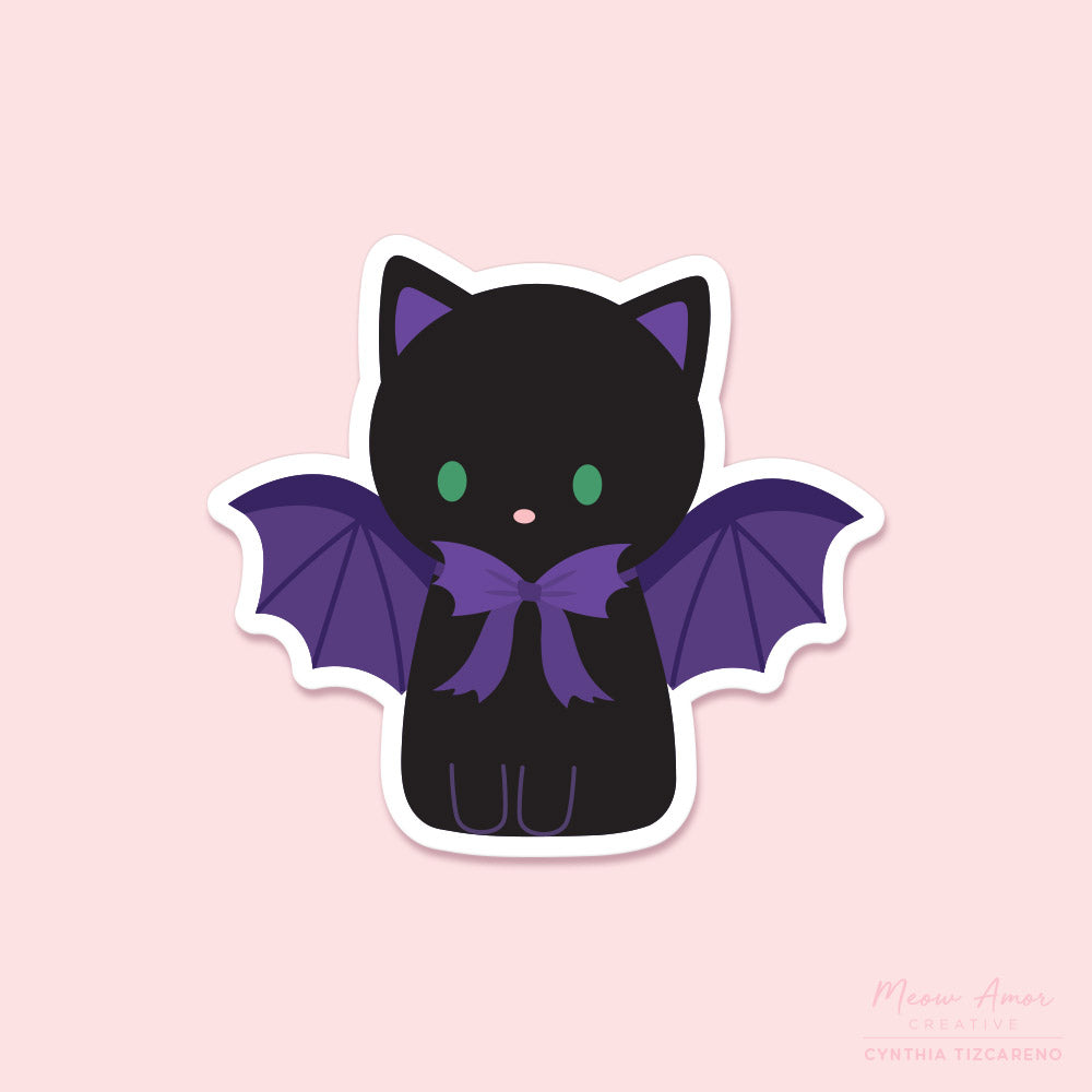 BatCat Vinyl Sticker