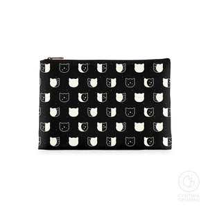 Cat Moon Phases Zipper Bag