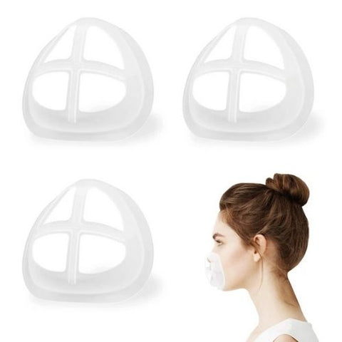 Washable & Reusable Inner Face Cover Frame (5 Pcs)