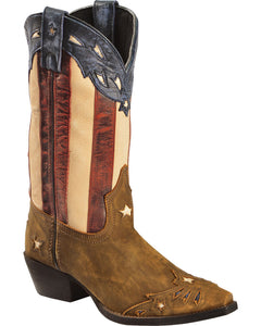 Laredo Womens Tan Stars and Stripes 52165