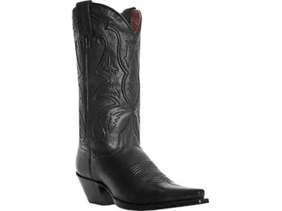 Dan Post Womens Black Leather Western Boots DP3475