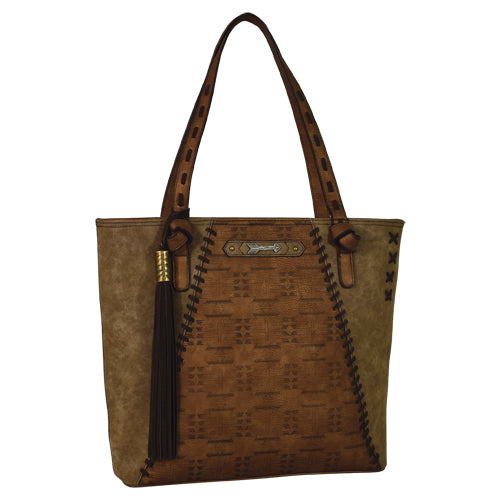 Trenditions Catchfly Jaci Tote Copper With Aztec CC    2034556