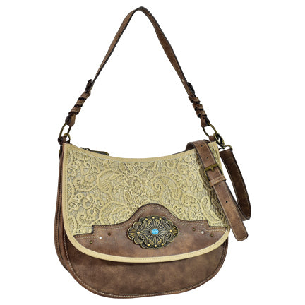 Trenditions Justin Crossbody Lace Accents  CC     2116594