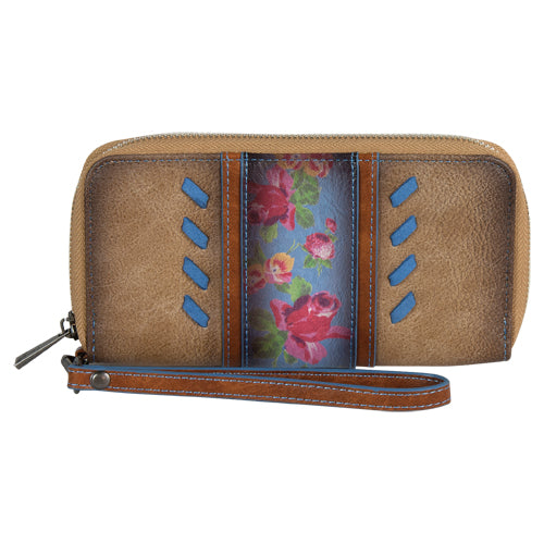 Trenditions Catchfly Julia Wallet Flower With Blue        2008553W