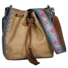 Trenditions Julia Crossbody Drawstring Flower    2008619