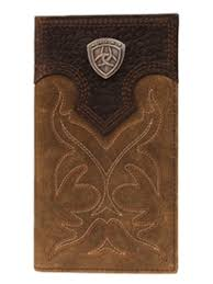Ariat Mens Boot Stitched Rodeo Wallet With Emblem   A3510844