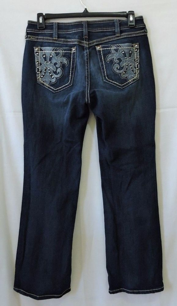 Ariat Womens Turquoise Midnight Galaxy Jeans   10010347