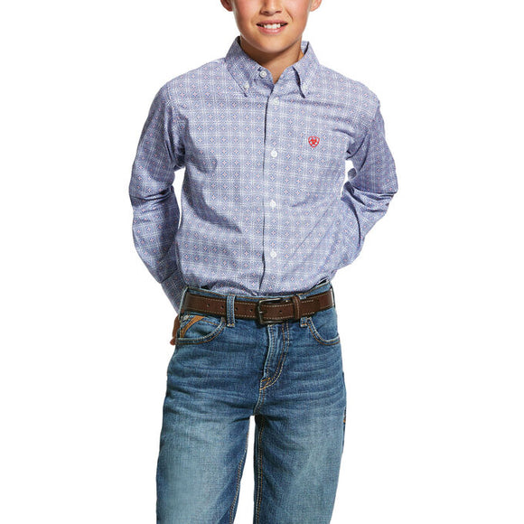 Ariat Boys Glaston Classic Fit Shirt  10030578