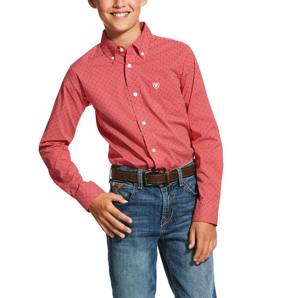 Ariat Boys Nakima Classic Fit Shirt 10030600