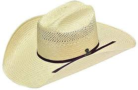 Ariat Mens 10X Straw Hat by Twister   A73110
