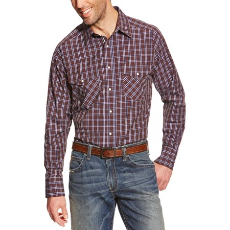 Ariat Mens Pro Series Raywood Plaid Classic Fit Shirt  10018219