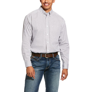 Ariat Mens Ferndale Print Stretch Classic Fit Shirt 10030576